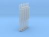 N Scale Cage Ladder 38mm (Platform) 3d printed