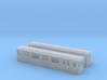 Berlin Baureihe A3L92  H0 [2x body] 3d printed