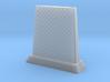 RBU water cooled blast deflector 1/100 3d printed
