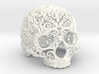 Intricate Filigree Skull 10cm 3d printed