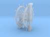 1/64 Ship's Wheel (Helm) for Ships-of-the-Line 3d printed