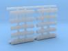 1/200 Royal Navy Flota Nets x10 3d printed 1/200 Royal Navy Flota Nets x10