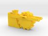 1/64 (S scale) Buckeye 7200 trencher wheel  3d printed