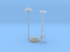 Seattle Space Needle (1:2000) 3d printed