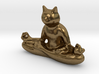 Meditating Cat 3d printed