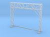 HO Scale Signal Gantry 2 tracks 3d printed