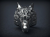 Wolf Ring 3d printed