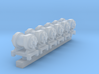 HO scale Turbo Generator for steam locos x6 3d printed