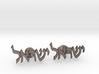 "Hebrew Name Cufflinks - ""Yisrael"" 3d printed"