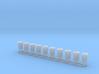 Schiffslampen/Navigation Lights 360° 1:50 3d printed