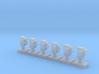 Dwarf 2 Light Std 160:1 N Scale (Qty 6) 3d printed