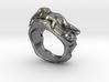 "Fu Dog (Komainu) ""um"" Ring 3d printed"