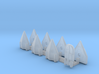 Omni Scale General Skiffs & Courier Flotilla WEM 3d printed