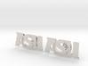 Arizona State Cufflinks, Customizable 3d printed