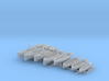 1/350 Scale HMS Invincible (WW1) Boat Set 1 3d printed 1/350 Scale HMS Invincible Boat Set 1