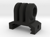 GoPro Picatinny Mount (Forward Tilting) 3d printed