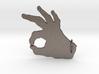 Under-Hand Keychain 3d printed