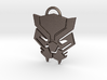Black Panther Keychain 3d printed
