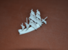 1/700 English Galleon 3d printed