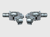 16x Incendiary Pistols (Left + Right) 3d printed