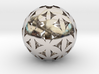 Flower of life bead sphere  3d printed