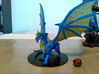 Adult Blue Dragon 3d printed