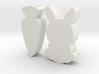 Bunny Carrot Game Pieces 3d printed