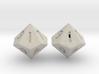 Weighted and Standard D10 Dice Set 3d printed