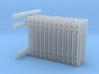 N Scale Membrane Water Filter Unit 3d printed