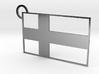 Finland Flag Keychain 3d printed