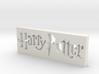 Harry Potter Logo 3d printed