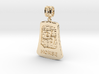 Chinese 12 animals pendant with bail - thehorse 3d printed