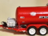 1/64 950 Gallon Fuel Trailer 3d printed Finished trailer by Chris Steeb