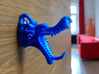 dragon wall hook 3d printed dragon wall hook - 3D print in blue nylon
