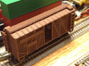 Cattle Car 40ft 3d printed 40' Cattle Car