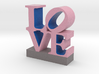 Love-033018-PinkBlueGray shell 0.5 3d printed