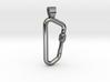 Carabiner [pendant] 3d printed
