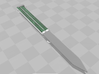 Butterfly Knife  3d printed
