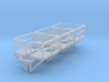 N Scale Cage Ladder Platform L+R 6pc 3d printed