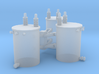 1/64 3 Phase Pole Transformers 3d printed