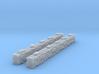 2 Sandbag Walls for 6mm, 1/300 or 1/285 3d printed