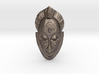 African Mask Necklace 3d printed