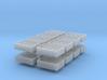 1:48 24  bottle crate V2 - 16ea 3d printed