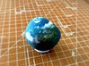 Bubble Chair: Planet Earth/Globe/Map (1:24 Scale) 3d printed