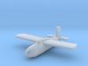 (1:285) Messerschmitt Me P.1104 3d printed