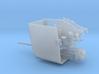 Gun 105 mm SK C 32 in 1 zu 72 3d printed