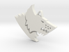 Space Wolf Pendant 3d printed