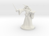 Minotaur Wizard with Wand 3d printed