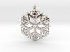 Snowflake Pendant 3 3d printed