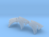 Space Crows jetbike icons x3 3d printed